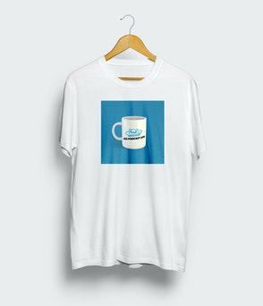 "Das Podcast UFO - T-Shirt ""Tasse"""