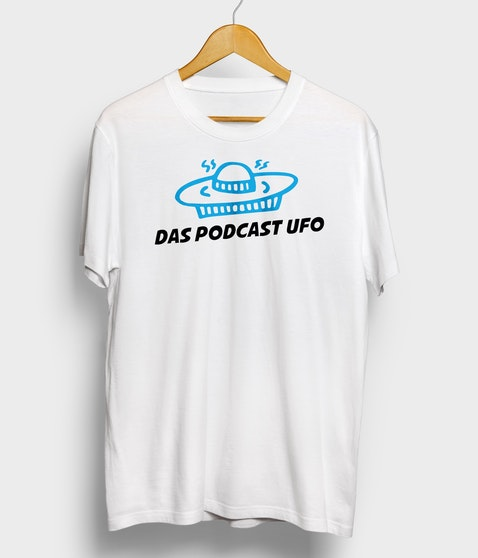 "Das Podcast UFO - T-Shirt ""UFO"""