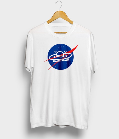 "Das Podcast UFO - T-Shirt ""NASA"""