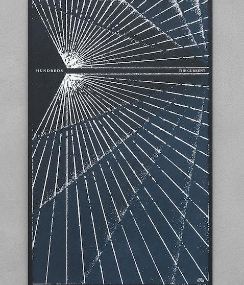 Hundreds - Siebdruck Poster (streng limitiert)