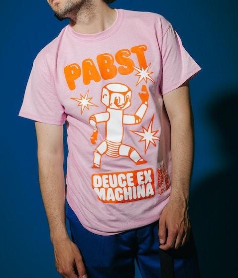 Pabst - Deuce Ex Machina pink Shirt