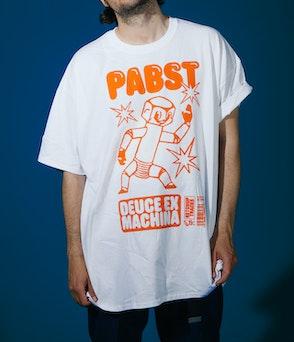 Pabst - Deuce Ex Machina white Shirt