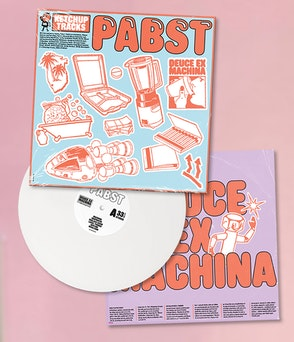 "Pabst - ""Deuce Ex Machina"" LP white (Limited Edition)"