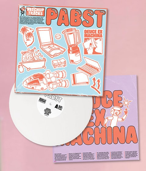 "Pabst - ""Deuce Ex Machina"" LP white (Limited Edition)"