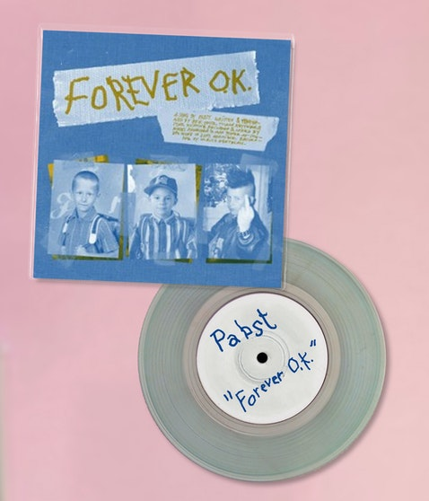 Pabst / Odd Couple (Split Single Vinyl) - Forever O. K. / Goldener Reiter